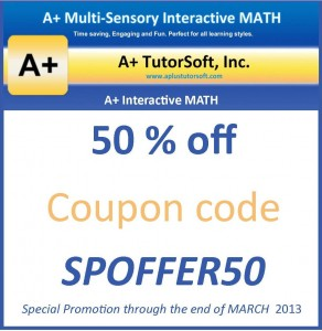 Aplus Tutorsoft Coupon Code March 2013