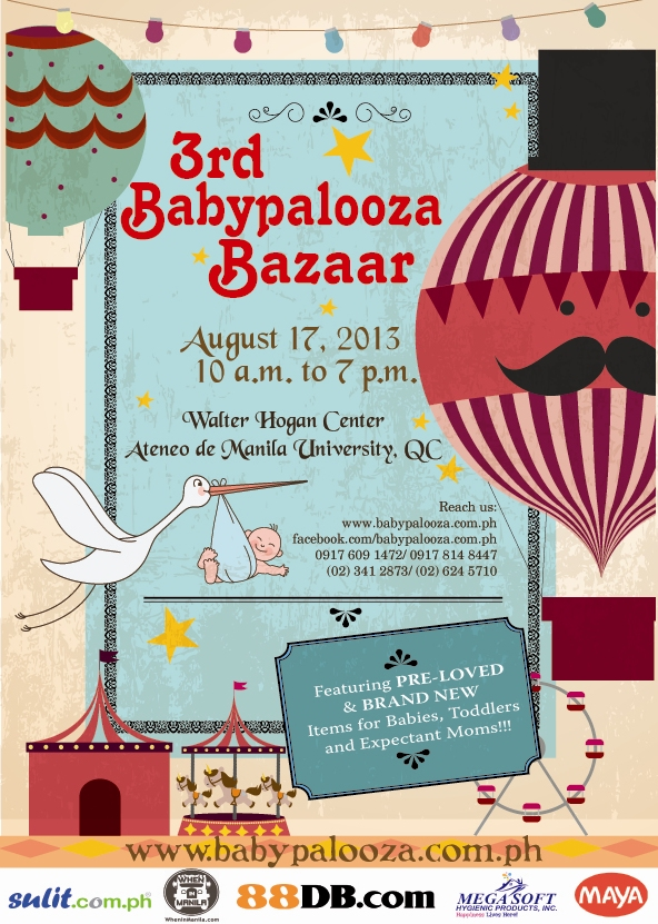 Babypalooza Bazaar - August flyer