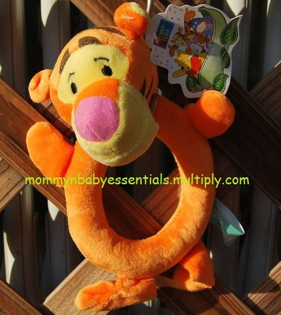 Mommy n Baby rattle-tigger