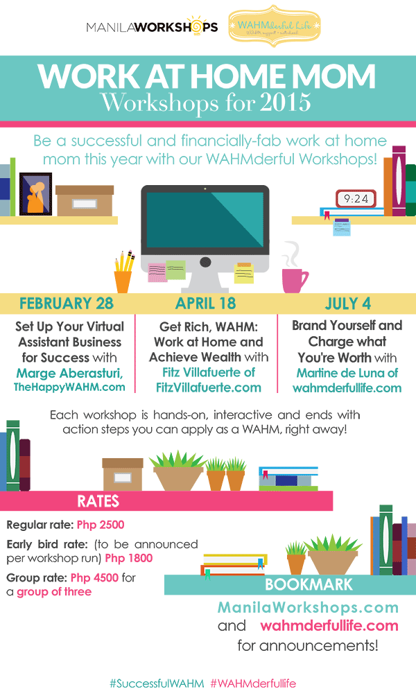 WAHMderful-life-workshops