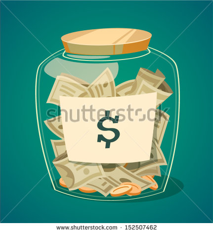 stock-vector-saving-money-jar-vector-illustration-152507462